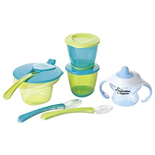 Tommee Tippee Explora Weaning Kit (Blue) (B009A75ZGI) | Amazon price tracker / tracking, Amazon price history charts, Amazon price watches, Amazon price drop alerts