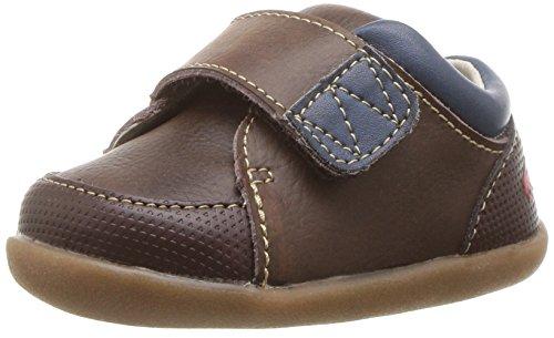 See Kai Run Baby-Boy's Graham First Walker Shoe, Brown, 3.5 M US Infant