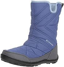 Columbia Girl's Youth Minx Slip III Snow Boot, eve, faded sky, 4 Regular US Big Kid