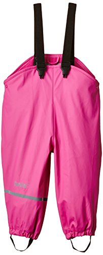CareTec Pantalones Impermeable con vellón Unisex Niños, rosa (Real pink 546), 92