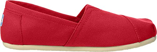 TOMS unisex baby Slip-on Sneaker, Black, 8 Little Kid US