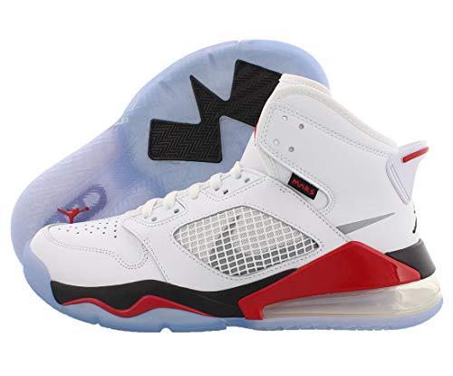 Nike Jordan Mars 270 [CD7070-100] Men Basketball Shoes White/Silver-Red/US 9.0