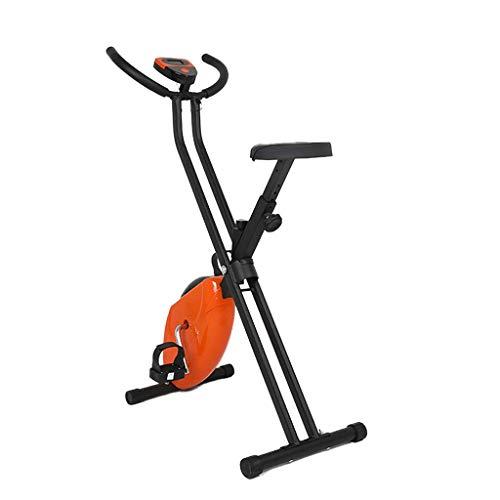 WXHHH Interni Casa Cyclette, Pieghevole Muto Indoor Cycle LED Cardio Dinamica Biciclette Casa Esercizio Bicicletta Che Fila in Bicicletta Attrezzi