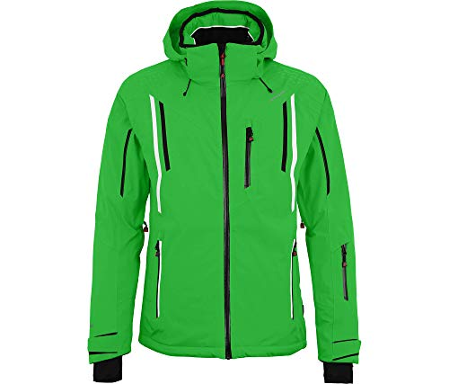 Bergson Herren Skijacke Riley, Classic Green [210], 58 - Herren