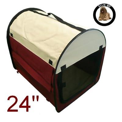 Ellie-Bo Fabric Soft Dog Puppy Cage Folding Crate