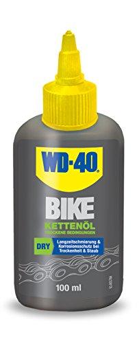 WD-40 Bike Kettenöl Tockene Bedingungen 100 ml, transparent, 49695