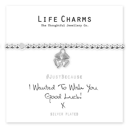 Life Charms I Wanted to Wish You Good Luck Bracelet