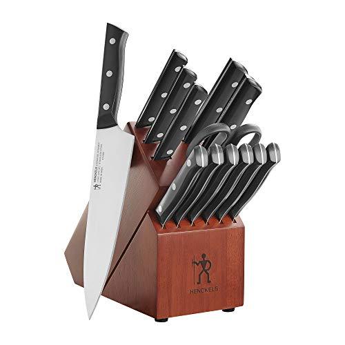 Henckels International Everedge Dynamic 14-pc Knife Block Set