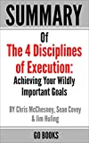 Summary of The 4 Disciplines of Execution: Achieving Your Wildly Important Goal by: Sean Covey, Jim Huling and Chris McChesney | a Go BOOKS Summary Guide