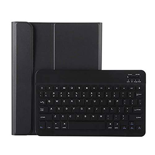 iPad Pro11 Bluetooth キーボード ワイヤレスキーボード 超薄TPUケース ペンシル収納付き ブルートゥース Bluetooth キーボード スタンド カバー 対応型番 A1980 A2013 A1934 (ブラック)