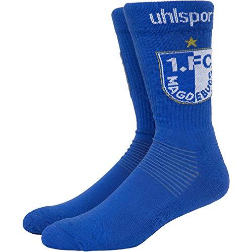 1. FC Magdeburg Uhlsport Socken Socks (46-50, blau)