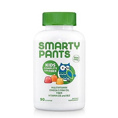 SmartyPants Kids Complete And Fiber Gummy Vitamins: Multivitamin