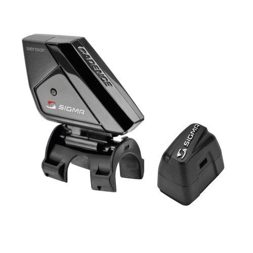 Sigma Sport Zubehör Trittfrequenz Sender Komplett Kit Sts Set, schwarz, 10 x 6 x 4 cm