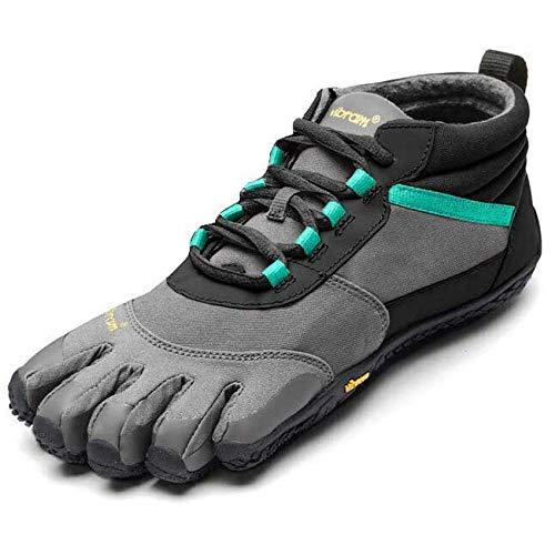 Vibram FiveFingers Women's V-Trek Insulated Shoes Black/Grey/Green 41