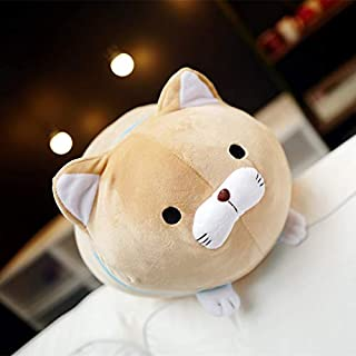 Mr Tree 1 PC 40 cm Japan Amuse Fortune Cat Lucky Cats Plush Toy Stuffed Kids Doll Beard Blessing Cat Pillow Cartoon Soft Animal Toy,15.7'',Brown