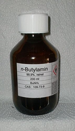 200 ml n-Butilamina 99,9%, MBA, plastificante, emulsionante, anticorrosione.