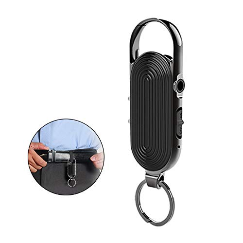 MTFY Digital Voice Recorder, 32GB Keychain Mini Sound Audio Recorder for Lectures Voice Activated Recorder, 384H Recording Capacity 28H Working Recording Device with Playback, MP3 Player