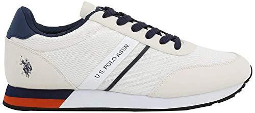 U.S. Polo Assn. Sneaker WILYS4127S0_MY1 Uomo Bianco Size: 43