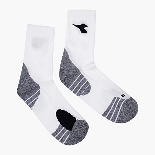 Diadora Sport Men 103172929 Running Socks - Blanco óptico, mediano