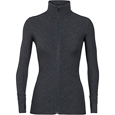 Icebreaker – Descender Long Sleeve Zip – Women