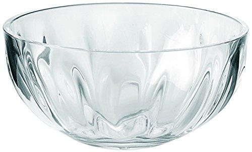Guzzini Medium Transparent Aqua Bowl, 17-ounce Capacity