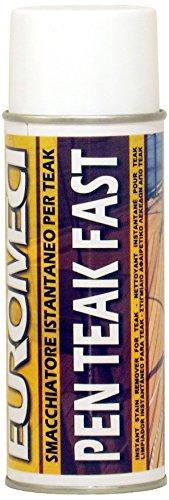 EUROMECI Pen Teak Fast, smacchiatore istantaneo Spray, 400 ml