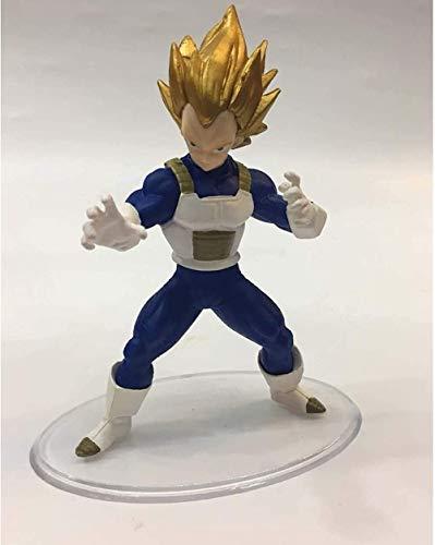 kyman Dragon Ball Figura de acción 15cm Vegeta IV Estatua Bej □ Ta Yonsei Decoraciones Anime Modelo Recuerdos Coleccionables Handicare Handicare Juguetes para Regalo Vegeta (Color: Vegeta)-Vegeta ⭐