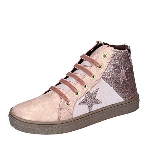 Asso Sneakers bébé Fille Cuir synthétique Rose 37 EU