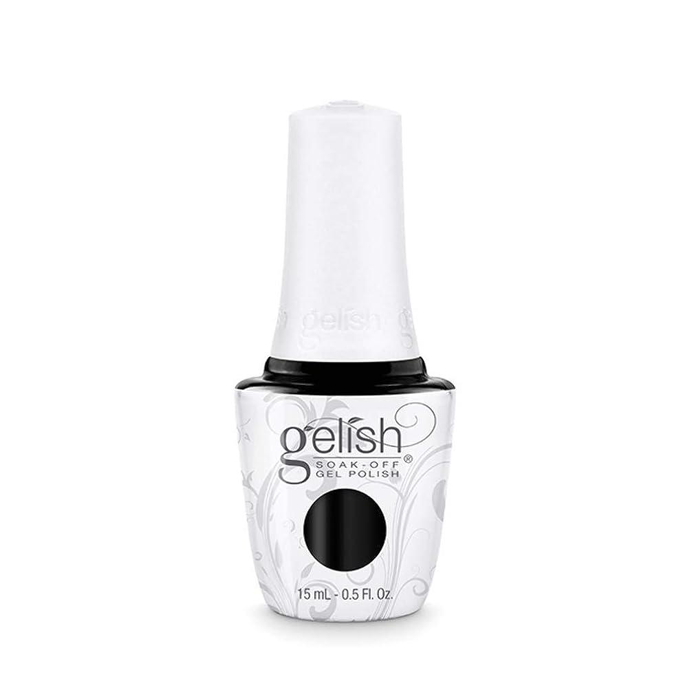 期待するブラシポンドHarmony Gelish Gel Polish - Black Shadow - 0.5oz / 15ml