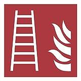 Stell 0046.10195 protección contra Incendios, Rojo Señal (Ral 3001)