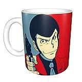 """Hdadwy """"Lupin Iii"""" unikalus linksmas keraminis kavos puodelis namų biuro kavos arbatos puodelis naujumo festivalio dovanai"""