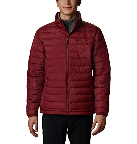Columbia Men's Powder Lite Jacket, Red Jasper, Large