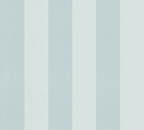 Oilily Home Vliestapete Oilily Atelier Tapete Blockstreifentapete 10,05 m x 0,53 m blau Made in Germany 311344 3113-44