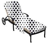 QCWN Strandstuhl-Abdeckung für Terrasse, mit Seitentaschen, Sonnenbecken, Strandstuhl-Matte, Handtuch für den Außenbereich, Garten, Sonnenliege, Liegestuhl