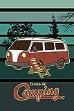 Diario de camping: Diario de viaje para las vacaciones en el camping I Lugar para 29 campings I Acampante en el bosque