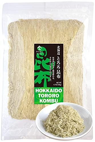 Kelp Dashi Kombu Seaweed Flakes -Dried Seaweed, Japanese Hokkaido's Seaweed 100%- No Chemical Additive, Blending Premier Brand Kombu 4.76OZ(Large Volume Pack)