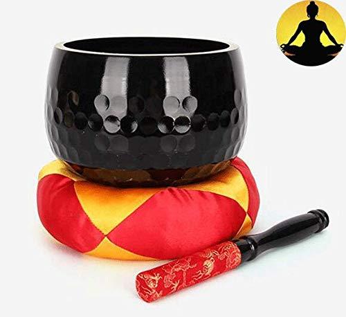 WangXIAO Tibetaanse klankschaal, meditatie, ontspanning, gebed yoga, boeddhistische kom, handgemaakt, bevordert de vrede Zen