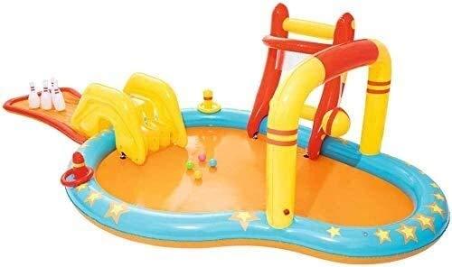 XZQ Piscina, jardín del Patio Trasero Fiesta del Agua Verano Juegos inflables de Agua Juego de Bolos Tazón de Atracciones Piscina