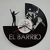 Vinywoody El Barrio Reloj de Disco de Vinilo