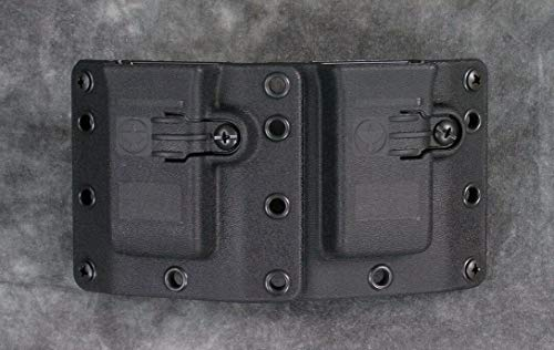 Raven Concealment Systems RCS 9/40/357 Copia Double Magazine OWB Universal Ambedextrous Holster, Standard Tall Profile