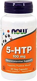 Now Foods 5-HTP Vitamins, 100 gm 60 Veg Capsules