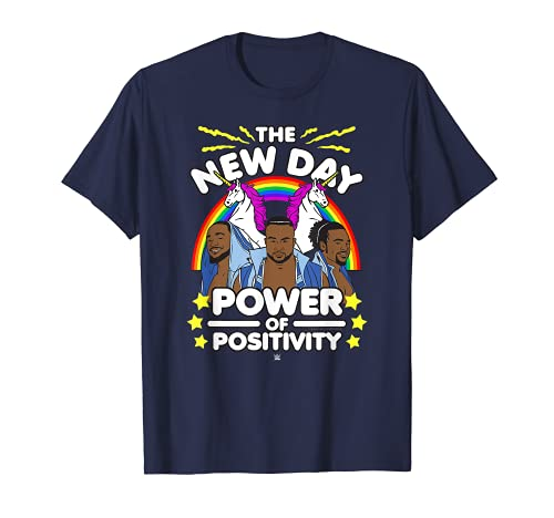 WWE New Day Cartoon Group T-Shirt