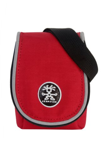 Crumpler Muffin Top 55, Red/Silver