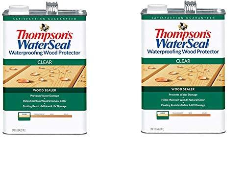 THOMPSONS WATERSEAL 21802 VOC Wood Protector, 1.2-Gallon (Twо Расk)
