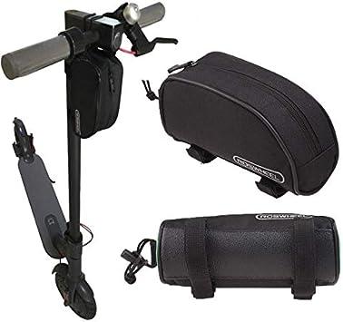 Theoutlettablet® Bolsa de Almacenamiento para Xiaomi Mijia M365 Scooter 3 eléctrico Frontal Porta Herramientas, Cargador etc. Bolsa de Transporte