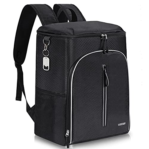 Insulated Cooler Backpack 35 Cans Leak-Proof Soft Cooler Bag Large Backpack Cooler for Lunch Picnics Beach Camping Hiking Tailgating Outdoor Activities