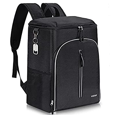 Amazon - 30% Off on Insulated Cooler Backpack 45 Cans Leak-Proof Soft Cooler Bag Large
