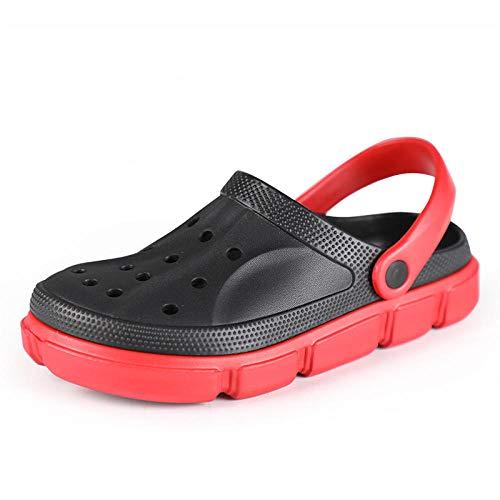 comodi sandali da esterno Zoccolo,Sandali per zoccoli ad asciugatura rapida da uomo,scarpe da giardino,pantofole da slittino per allattamento leggere,slip da uomo mulo da spiaggia per cortile/giardi