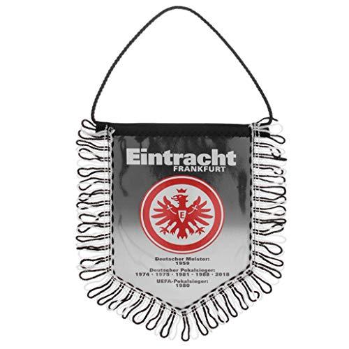 Eintracht Frankfurt Auto Wimpel / Banner / Autowimpel / Autobanner SGE - plus gratis Aufkleber forever Frankfurt