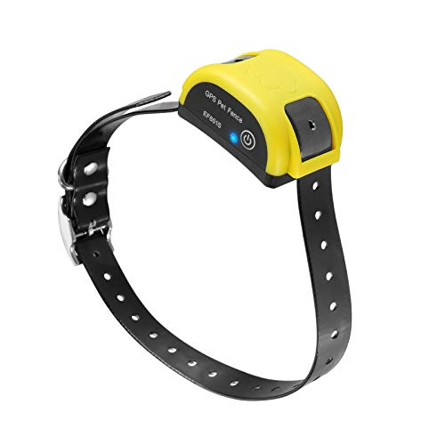 XFOX Wireless Pet Fence GPS E Containment System for Dog IP95 Waterproof Electric Training Collar Adjustable 800 Meters Range Rechargeable Pet Boundary Container for Outdoor